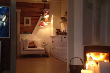 Cozy & authentic! 2 pers Homestay - Sjøholt - 一軒家