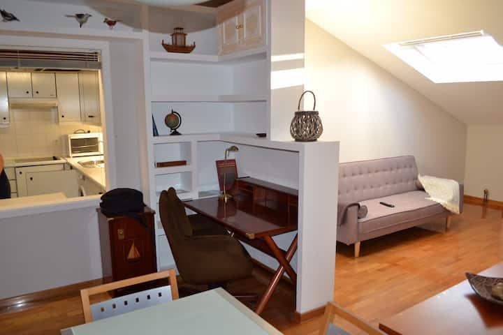 O POLEIRO,Apartamento en el centro de Nigran