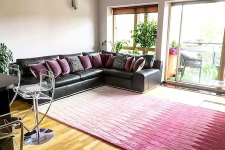 Double room in stylish lakeside apt - Londýn - Byt