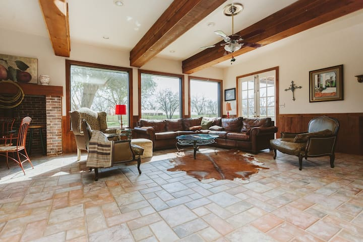 Charming Ranch close to Houston - Brookshire - Ház