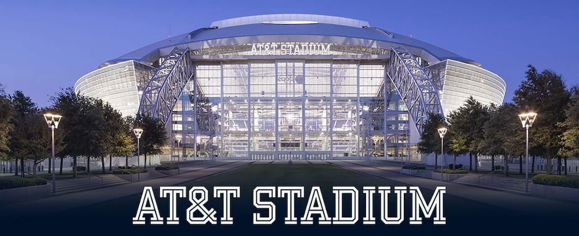 Discounted Luxury near AT&T Stadium for 4