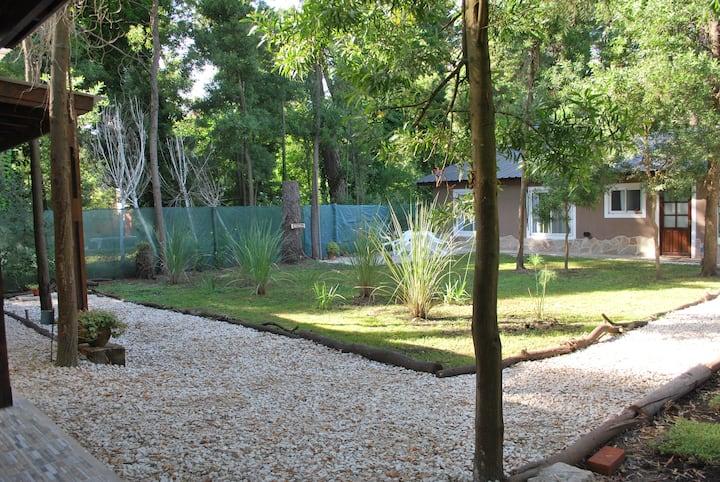 Cabaña 2 ambientes hasta 3 personas con piscina