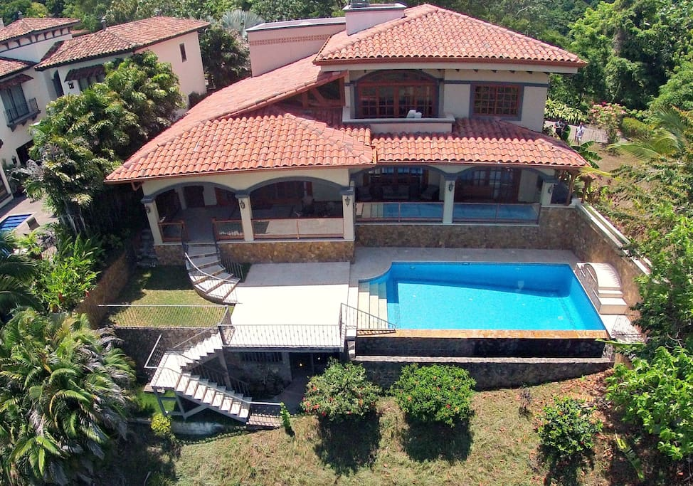 Overlooks los suenos marina 5br houses for rent in for Costa rica rental houses
