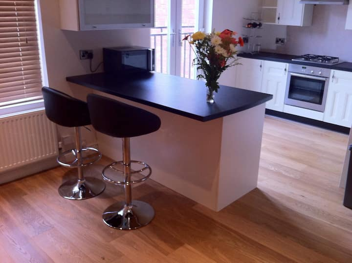 Bright and lovely 2-bed apartment, Bishop Auckland