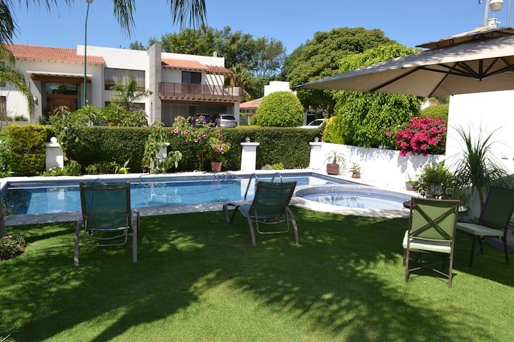 Hermosa Casa Atlixco Club Golf El Cristo  Alberca