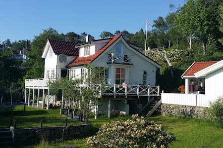 House with large secluded and sunny garden - Bergen