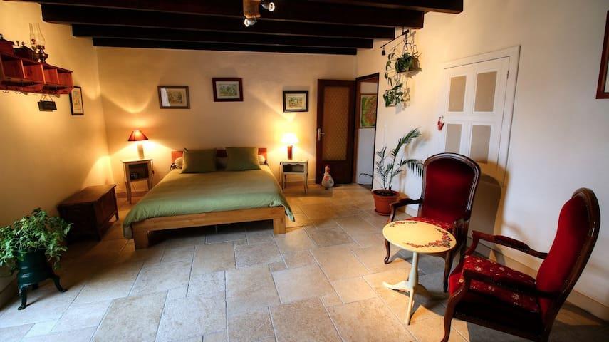 Chambre d'hôtes Les Bruyères - Treffort-Cuisiat - 家庭式旅館