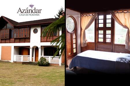 Casa Azándar. Habitación Acacia: Doble - San Isidro