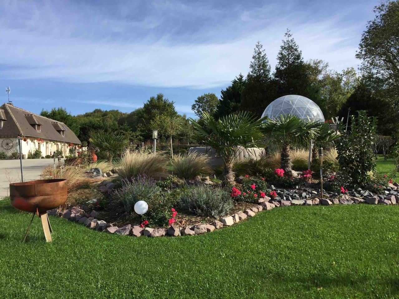 Une bulle à Deauville sur Airbnb.
