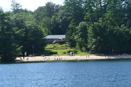 LAKE FUN!: Spacious home w/Beach rights Meredith.