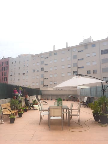 Habitación doble con baño privado. - Palma de Majorque - Appartement