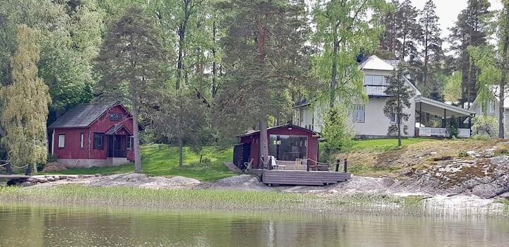 Idyllic seaside villa close to Tammisaari center