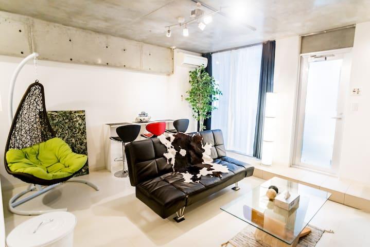 【Nagoya st 5min】family&Partner FreWiFi limitedroom