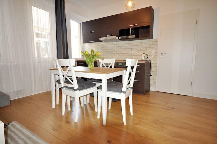 Gemütliche Wohnung im Herzen der Neustadt