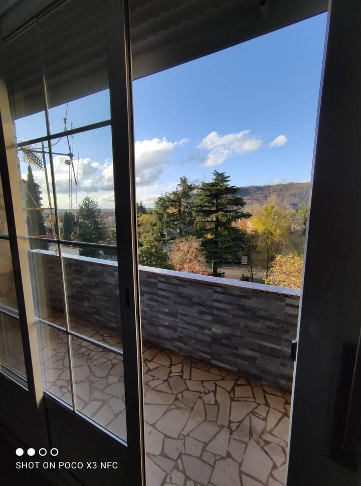 Appartamento con vista panoramica