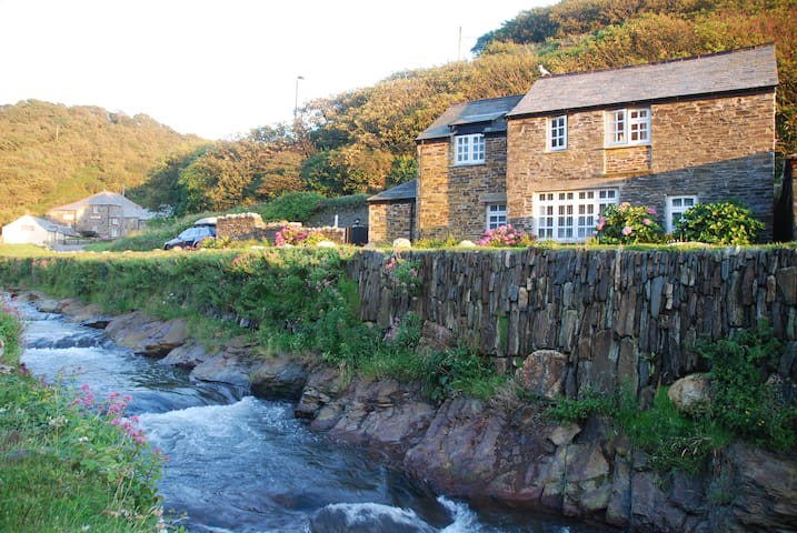 Harbourside cottage in Boscastle with parking - Boscastle