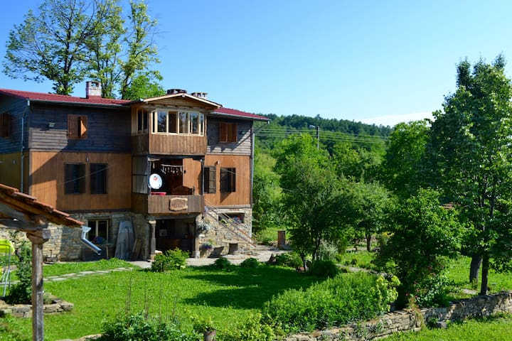 Spacious house with pool 40 m from Veliko Tarnovo