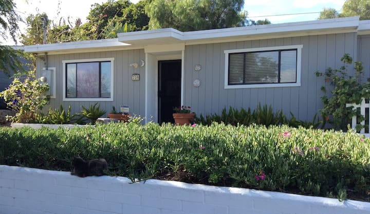BEACH-CLOSE!  WHOLE HOUSE! 2BR & DEN- DISINFECTED!