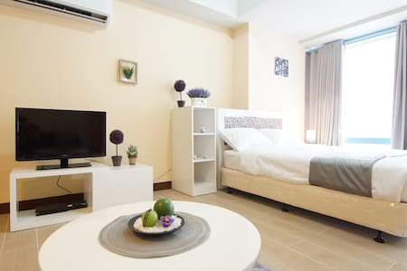 Chic & Cozy Studio in Makati CBD w/ WiFi (M4) - Makati