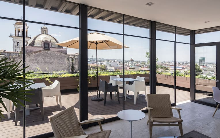 Hidden gem: Loft in the heart of Puebla