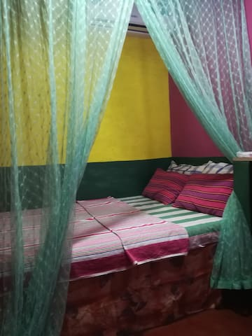 Free A/P pickup or Drop Off + A/C Double Room