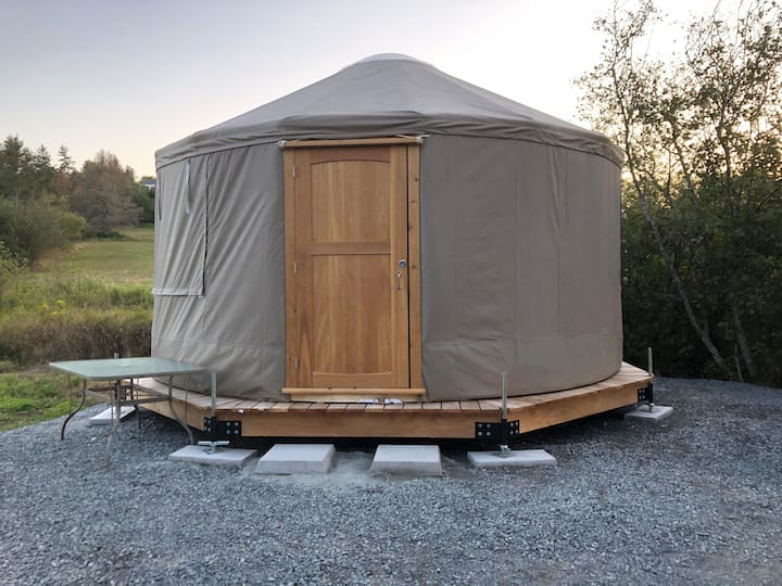 That Cozy Lunenburg Yurt