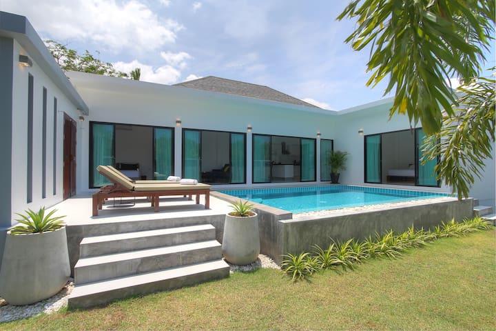 2 BR villa, 7 mins away from beach - Choeng Thale - Vila