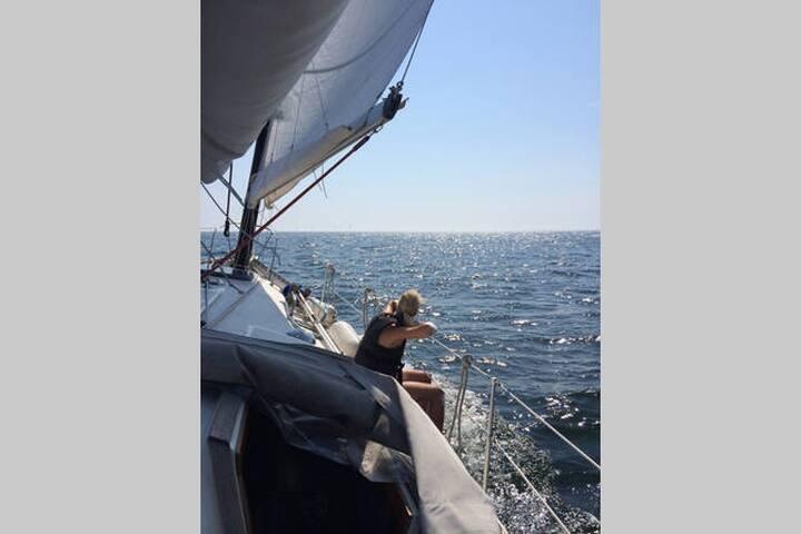 Live Aboard sailing yacht India - Malmö - Barca