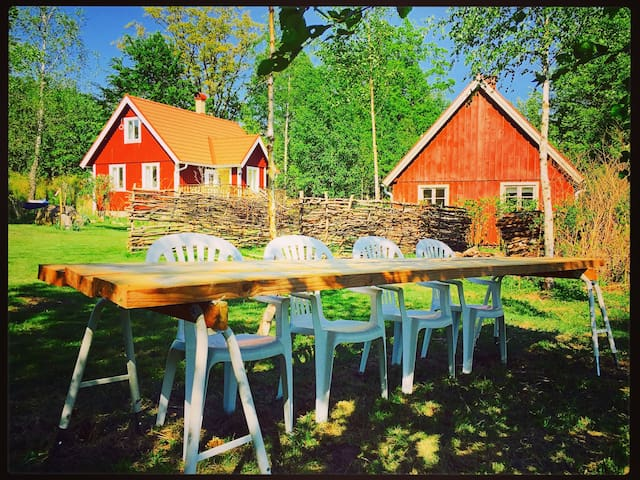 Crystal Cottage - Swedish Country Living - Osby Ö - Casa