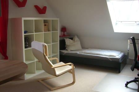 Zimmer mit Blick ins Grüne - Leipzig