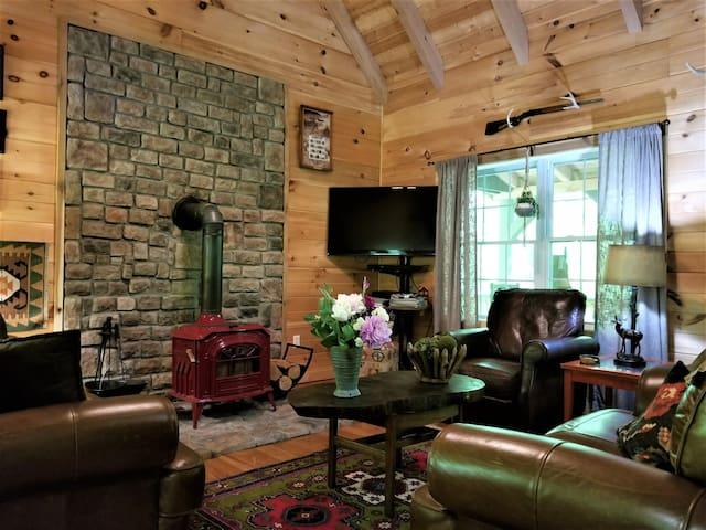 Buck Lair Vacation Cabin & Retreat VT & RU closeby