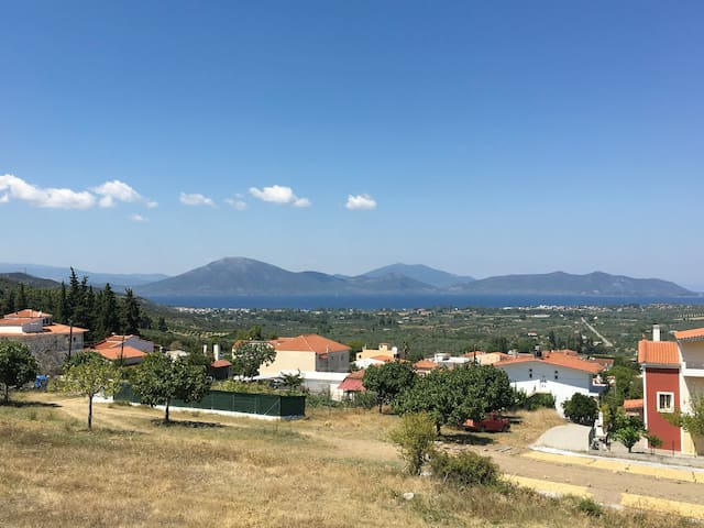 Apartment with a great view in Evia