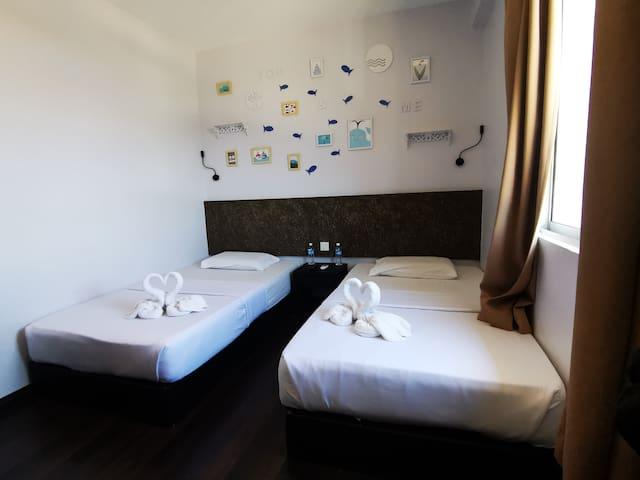 豪华两张单人床(Double Bed Room)