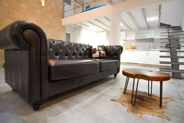 Charming style LOFT in old town Palma - Palma - Loft