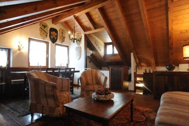 Tipica casa di Cortina , zona centrale