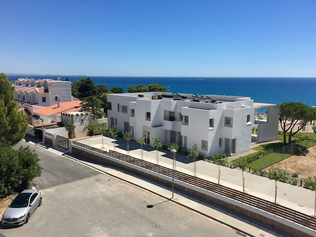 New SeaView apartment with pool, 100 m to beach - Mont-roig del Camp - Apartament