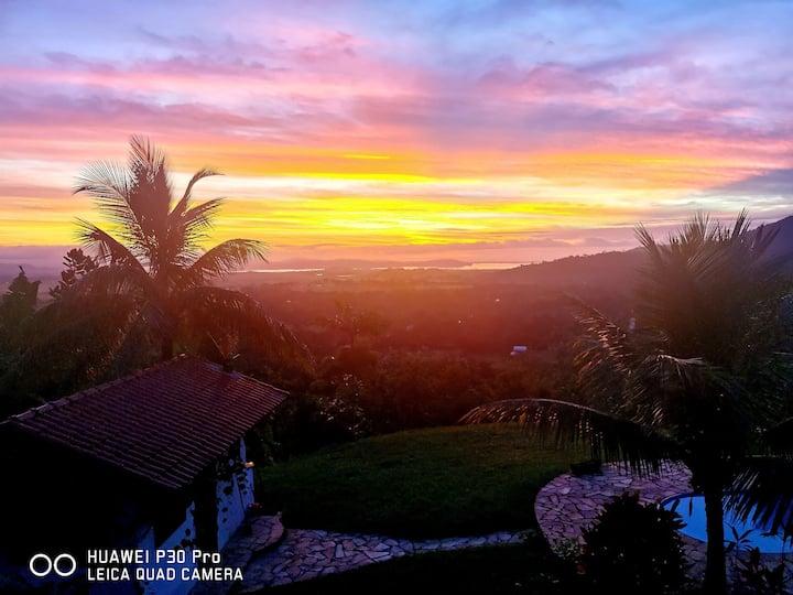 Pedaço de Céu entre Serra e mar vistas espect.