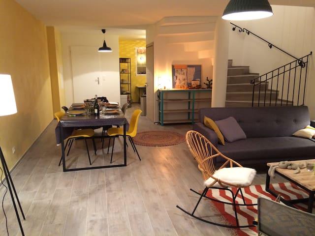Maison au centre de Calenzana
