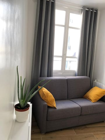 My new cosy studio rue Saint-Sulpice