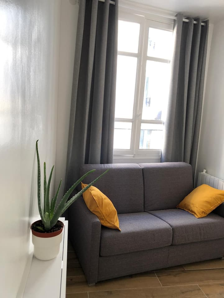 My new cosy studio rue Saint-Sulpice