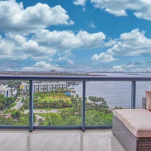 Luxury Miami Waterview  Apartment Location Parking