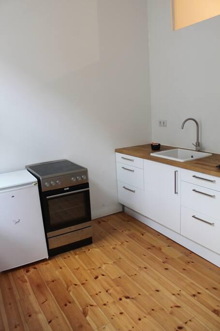 Ausgestatte Küche