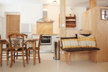 Gîte Crocus (2/4 pers.) de 50 m² avec terrasse - Les Moussières - Apartment