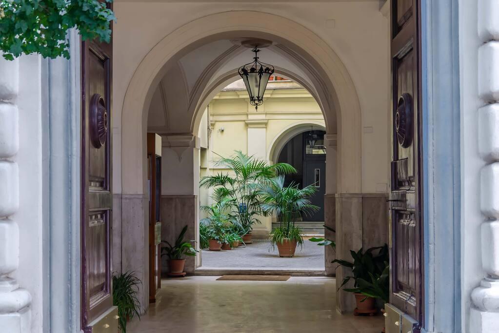 charming entrance