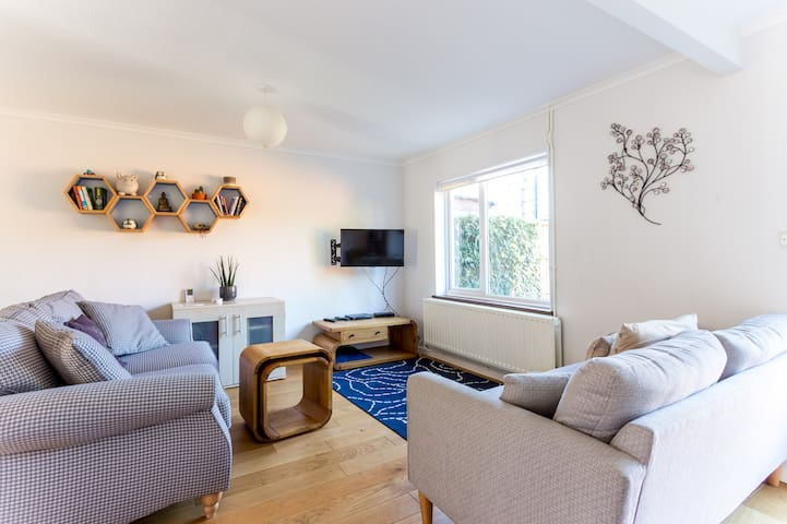 2BR Terraced city house★Walk to Central Cambridge