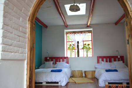 Tumbaco-Cuarto compartido-Hermosa casa de hacienda