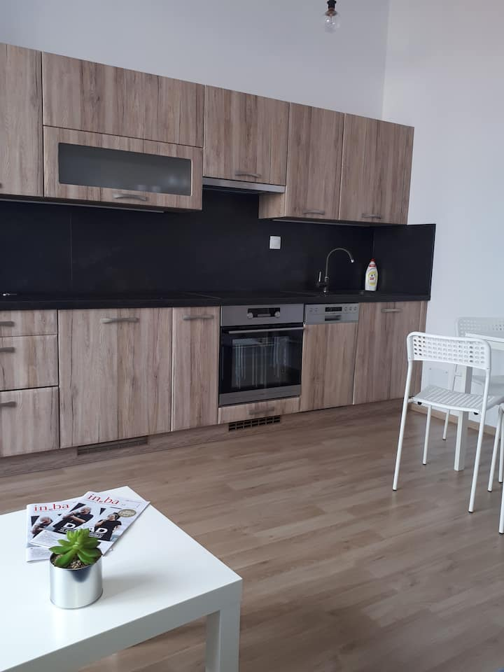 Modern apartment 2 km from  Eurovea promenade