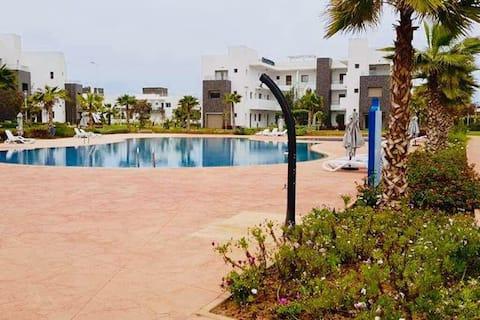 Appartement moderne piscine, au bord de Mer(ap2).