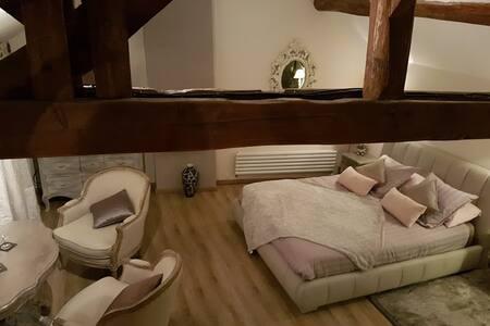Chambre romantique Duo Détente avec Jacuzzi /sauna - Vernou-la-Celle-sur-Seine - Гестхаус