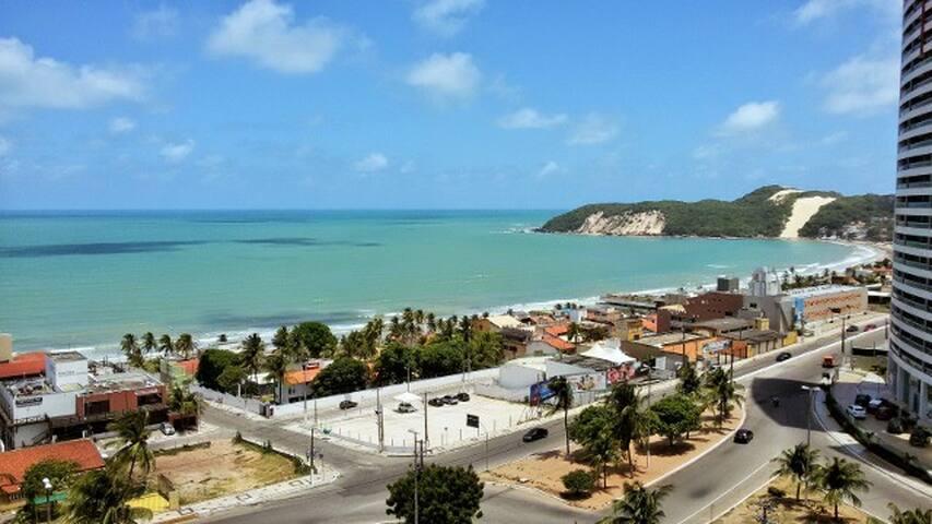 Apartamento de frente para o mar em Ponta Negra